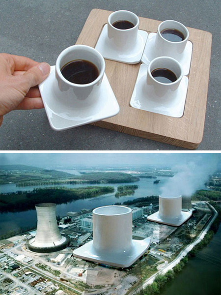 Nuclear Power Plant Cups