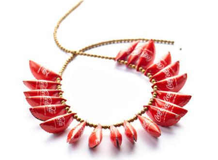 Coca-Cola Caps Necklace