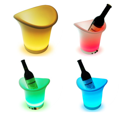 Colorful LED Ice Buckets
