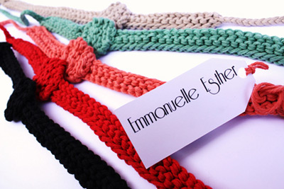 Emmanuelle Esther Knitted Accessories