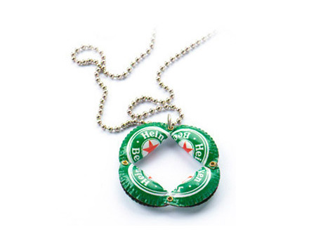 Heineken Caps Necklace