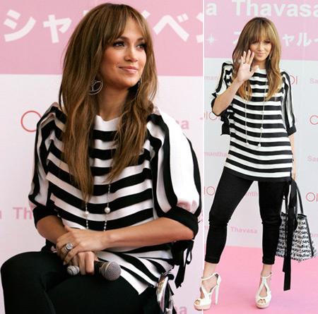 Jennifer Lopez at Bags Presentation