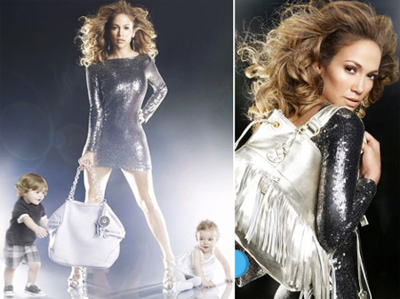 Jennifer Lopez for Samantha Thavasa Bags