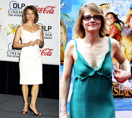 Jodie Foster Weight