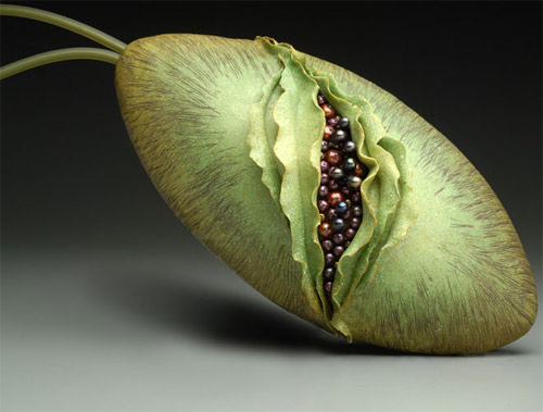 Kathleen Dustin Weird Fruit Bag