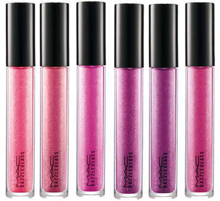 MAC Cosmetics Double Dazzle  Gloss Pink Shades