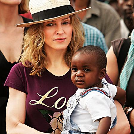 Madonna and Malawian Child