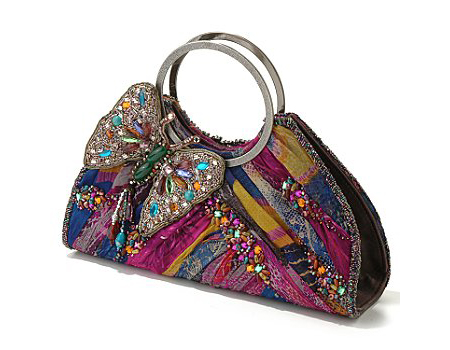 Mary Frances Bag with Butterfly