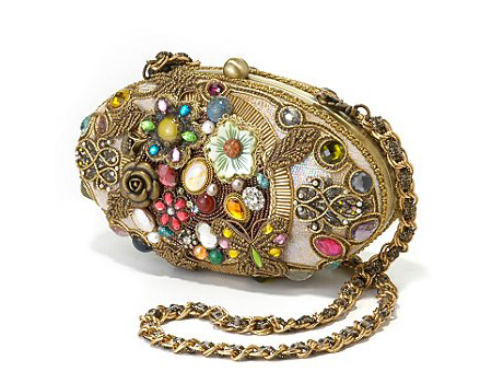 Mary Frances Golden Clutch