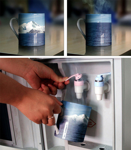 Melting Iceberg Cup