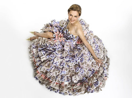 Money Wedding Dresses