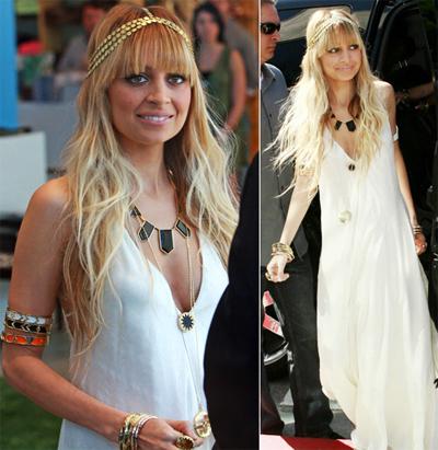 "Nicole Richie Wearing ""House of Harlow 1960"" Jewelry"