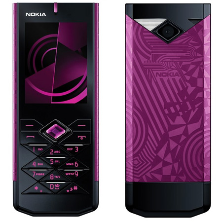 Nokia 7900 Crystal Prism Mobile Phone