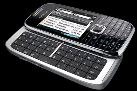 Nokia E75 Handset in Black
