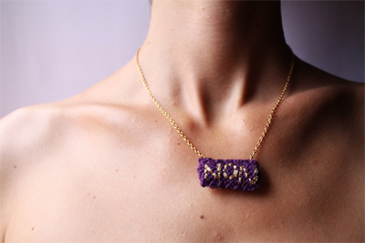 Non Necklace by Emmanuelle Esther