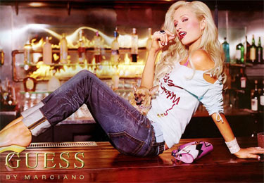 Paris Hilton for Guess by Marciano