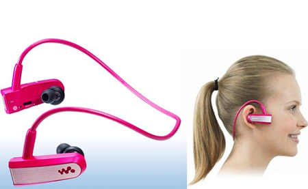 Pink Sony MP3 Player