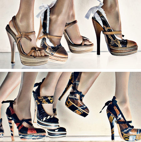 Prada Spring Summer 2009 Shoes
