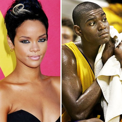 Rihanna and Andrew Bynum