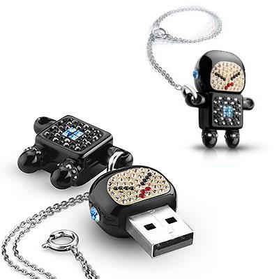Robot Naughty Raymond USB Memory Key