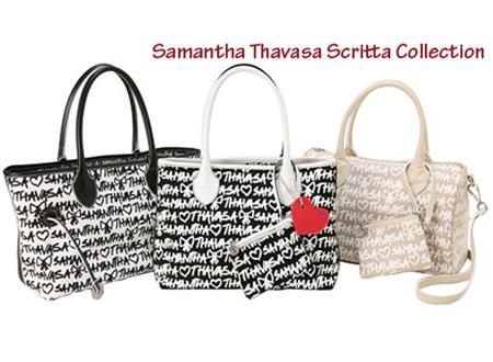 Samantha Thavasa Scritta Bags