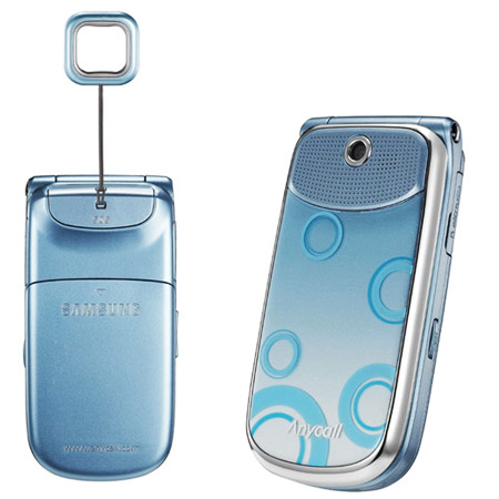 Samsung Cell Phone with a Siren