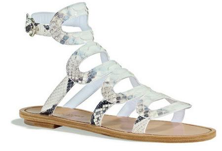 Sergio Rossi Gladiator Flat Sandals