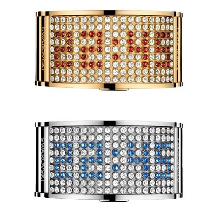 Swarovski D:Light Watches