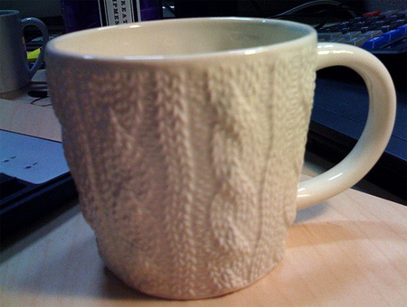Knitted Coffee Mug