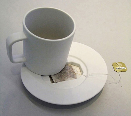 Tea Bag Coffin Mug