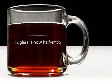 Pessimist Mug