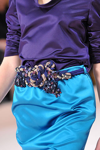 Valentino Asymmetry Fashion Trend