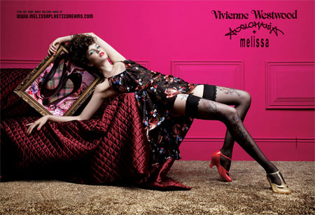 Vivienne Westwood Anglomania Melissa Shoes Collection
