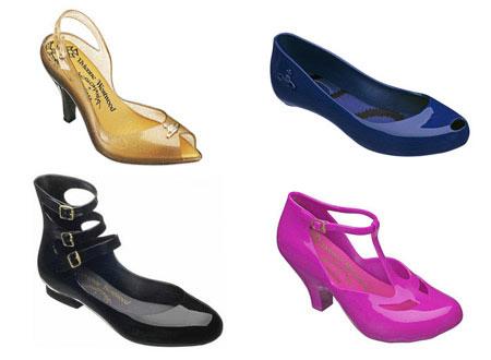 Vivienne Westwood Plastic Shoes Collection