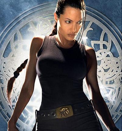 Angelina Jolie and Kickboxing
