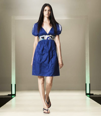 Benetton Blue Dress