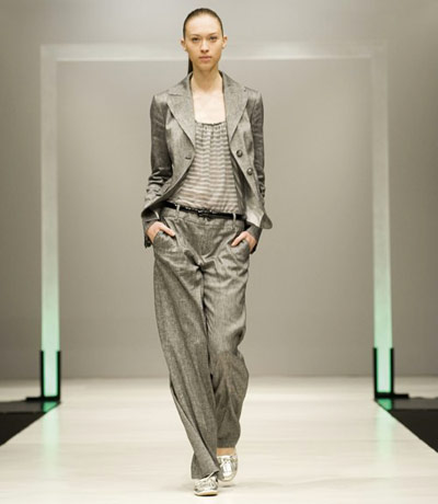 Benetton Grey Suit