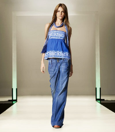 Fashion Fitness Wear Brands on Summer 2009 Women S Wear Collection From Benetton   Fashion   Wear