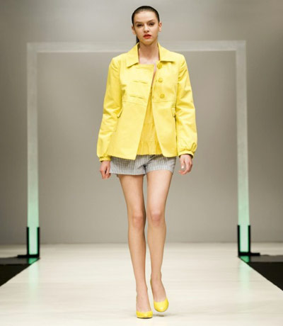 Benetton Yellow Jacket