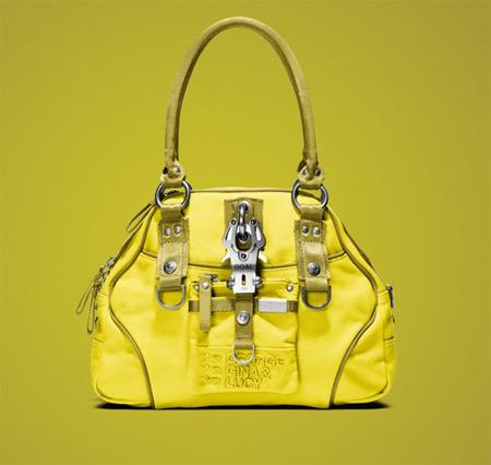 Сanvas Collection Yellow So Mellow Bag