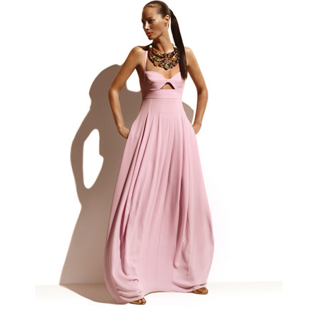 Christy Turlington in Pink