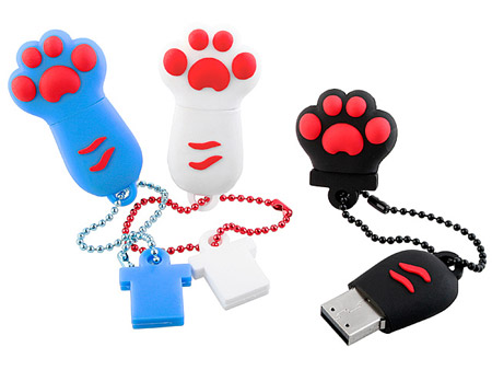 Cute Paw USB Flash Drives