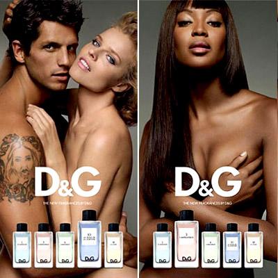 D&G Fragrance Anthology Naomi and Eva