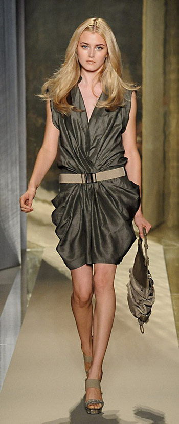 Donna Karan Belt Dress