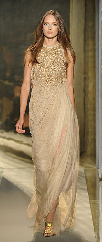 Donna Karan Luxury Evening Gown