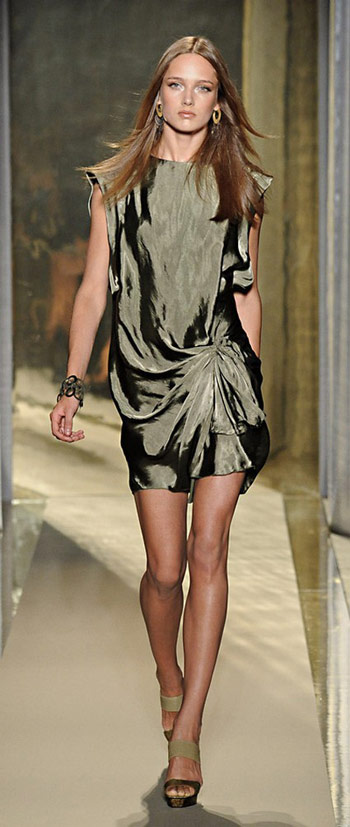 Donna Karan One Piece Silk Dress
