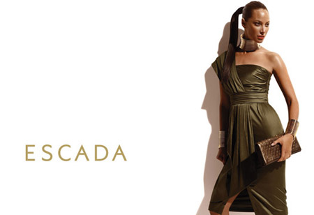 Christy Turlington Ad for Escada