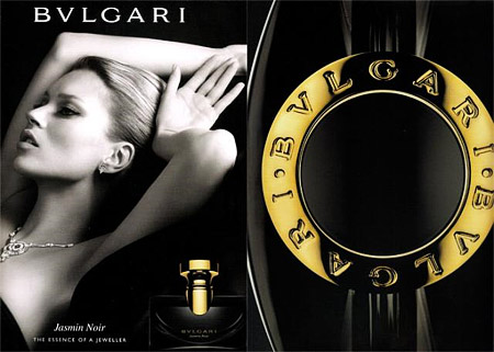 Kate Moss for Bvlgari Jasmin Noir