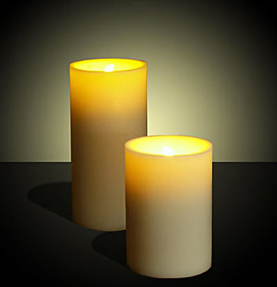 LED Candles Yellow