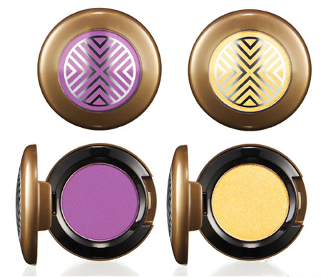 MAC Eyeshadow Vibrant Grape and Bright Future